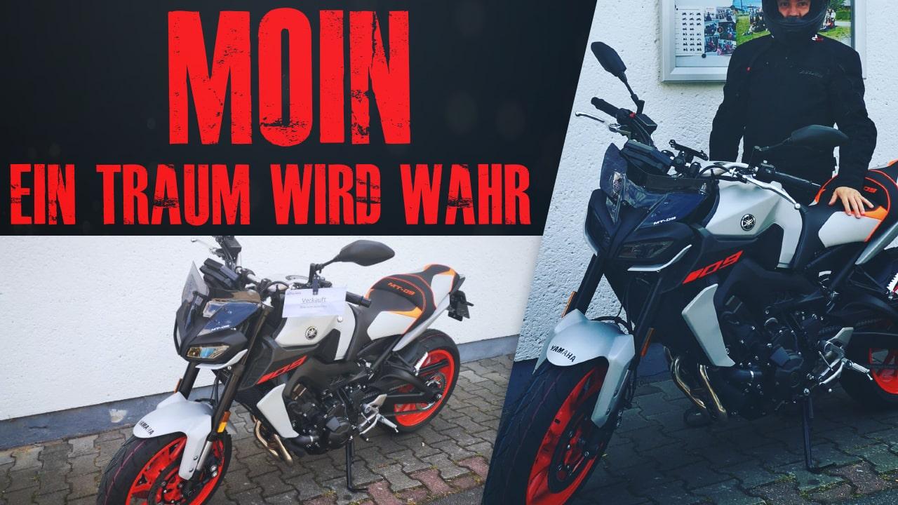 Im Youtube-Video stelle ich euch meien neue Yamaha MT-09 vor.
