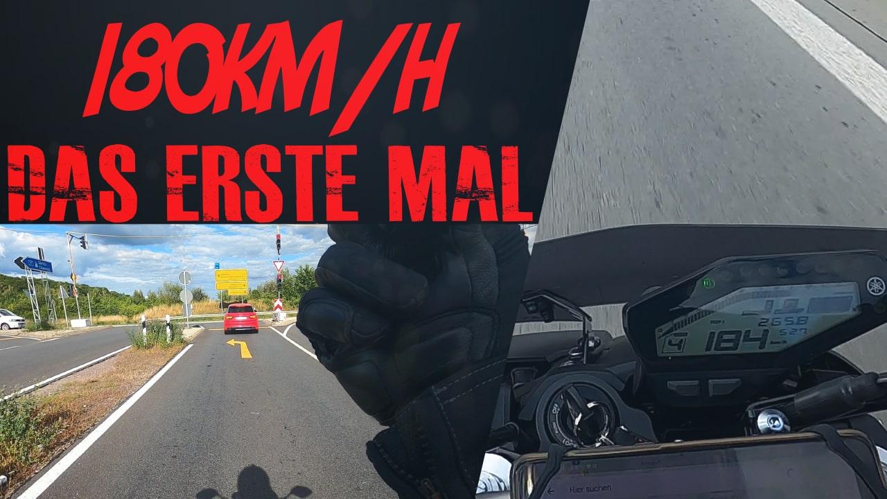 Das Thumbnail für die zweite Ausfahrt mit der Yamaha MT-09